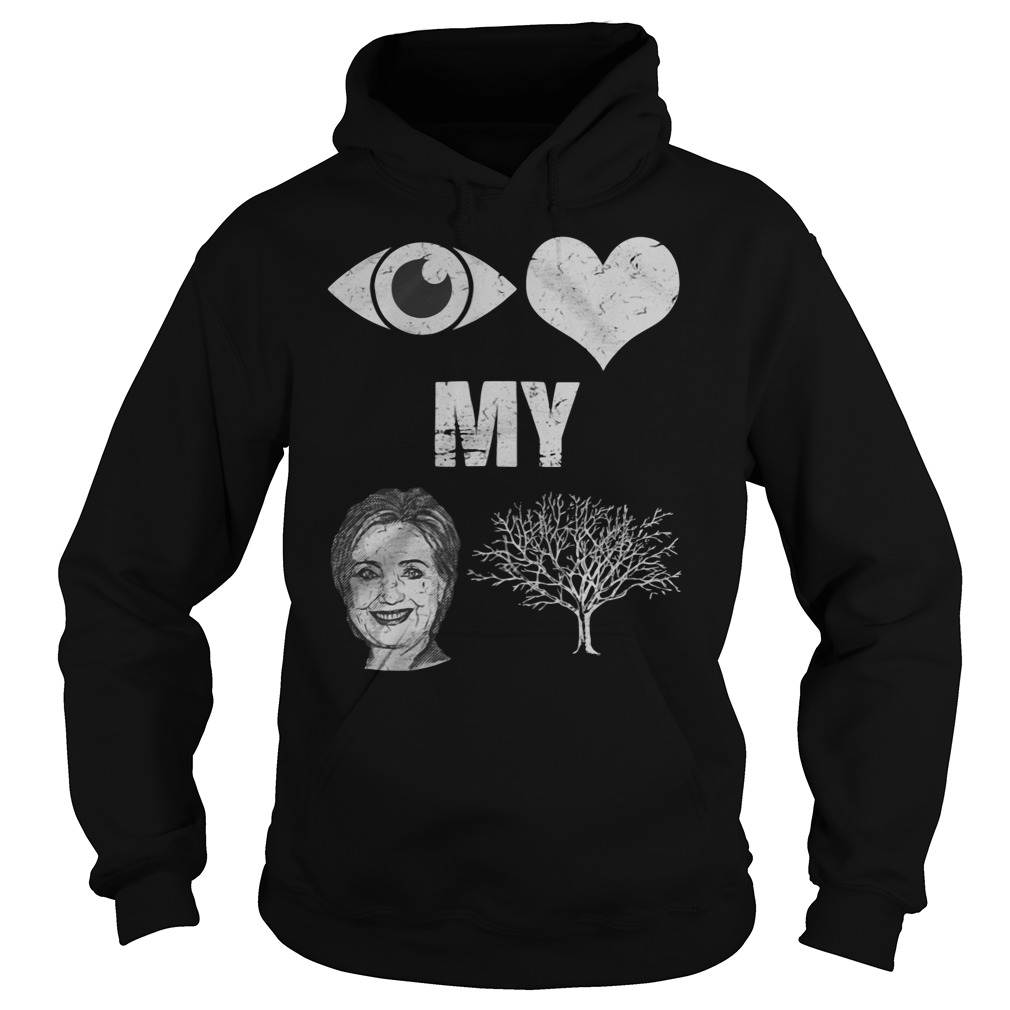 Hillary Clinton I Love Country Hoodie
