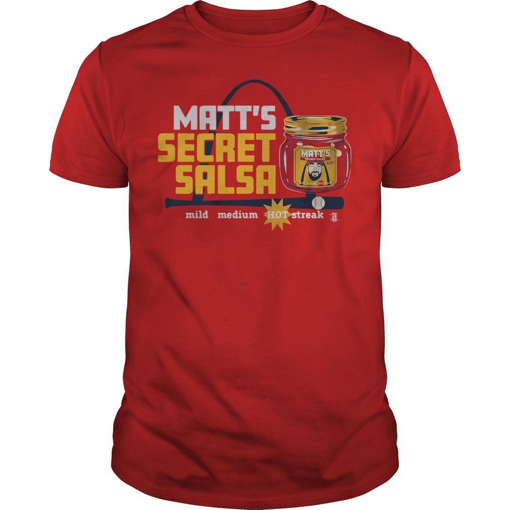 Matt Secret Salsa Guys tee