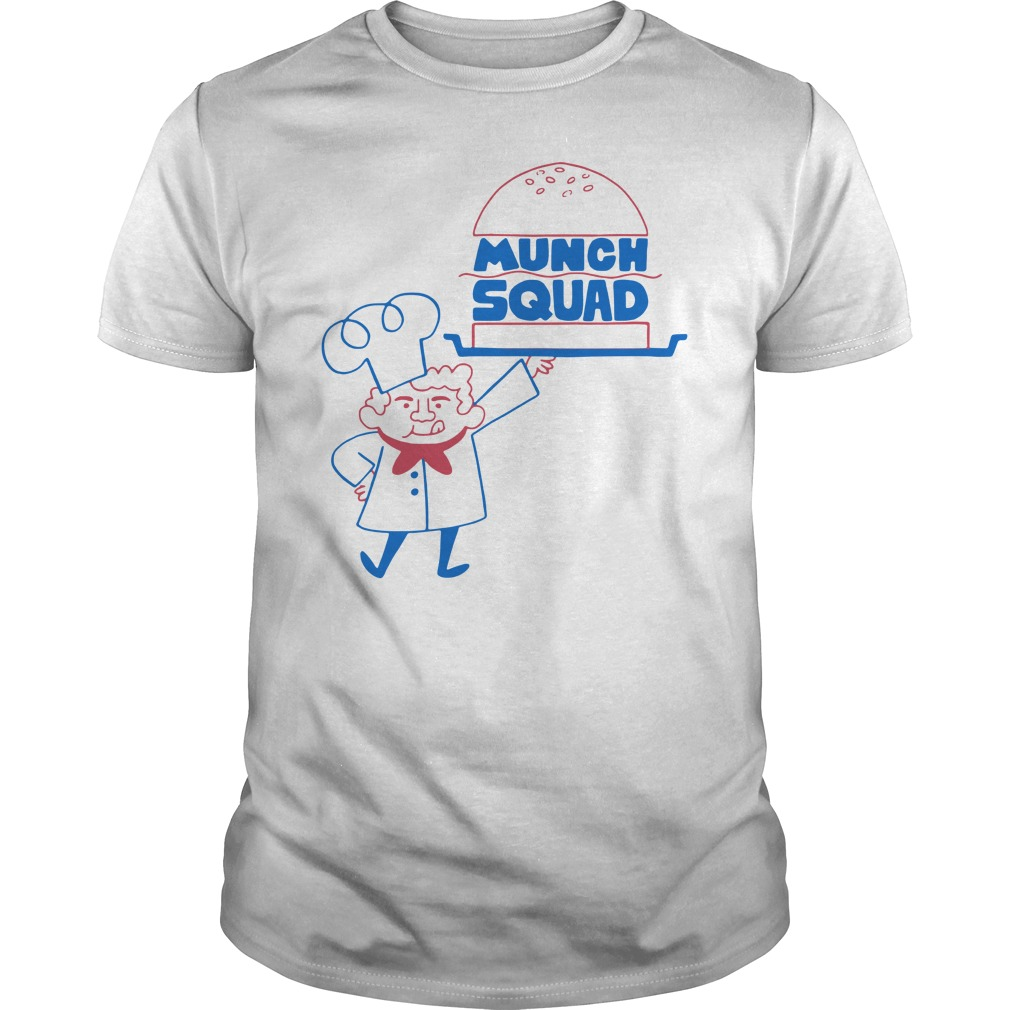 Munch Squad Guys tee