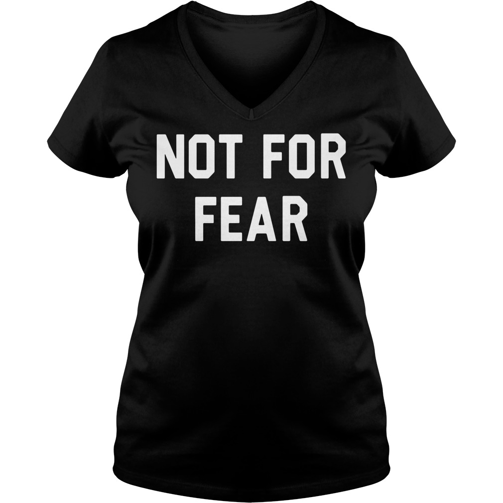Official Shareef O'Neal Not for Fear V-neck