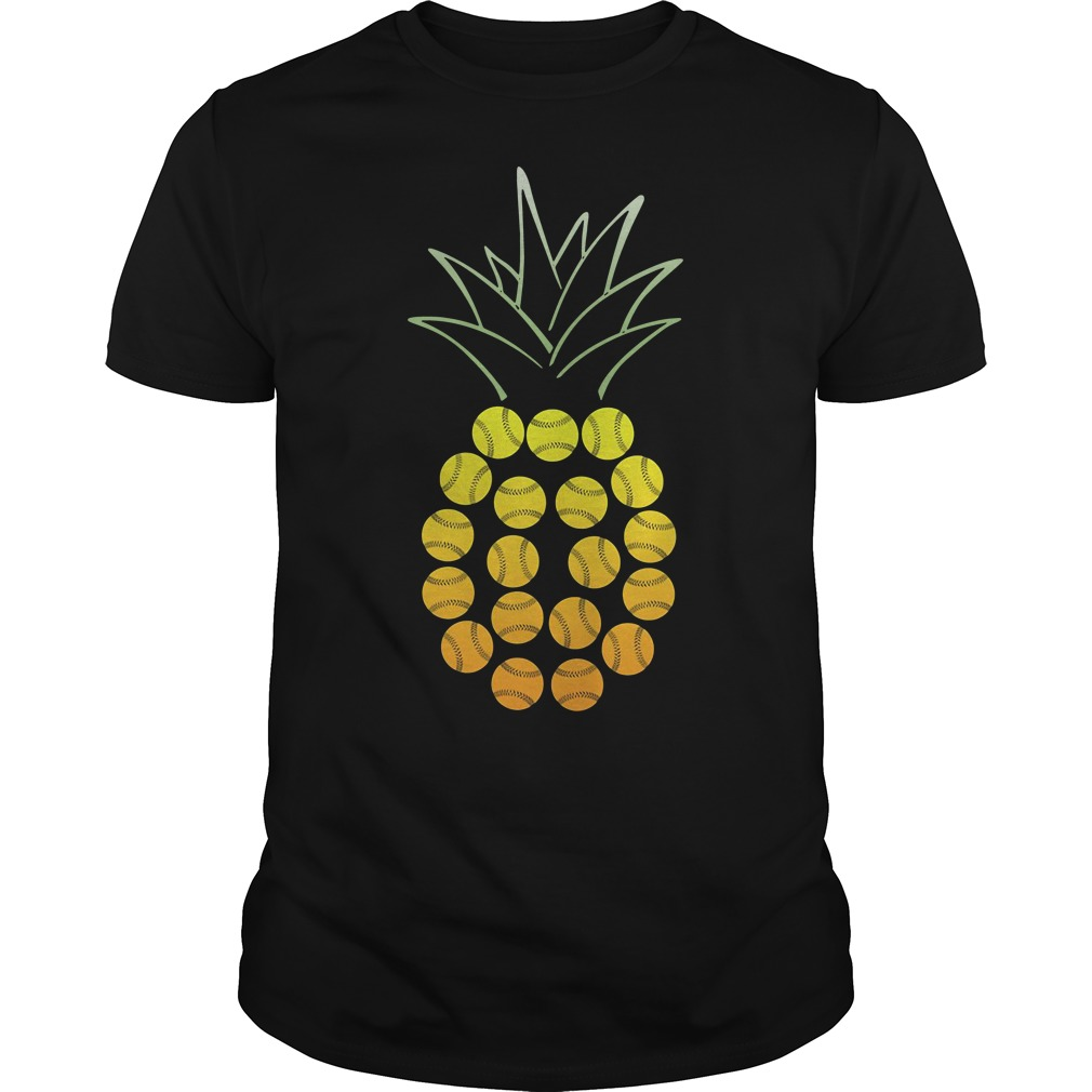 Official Softball Pineapple Guys tee