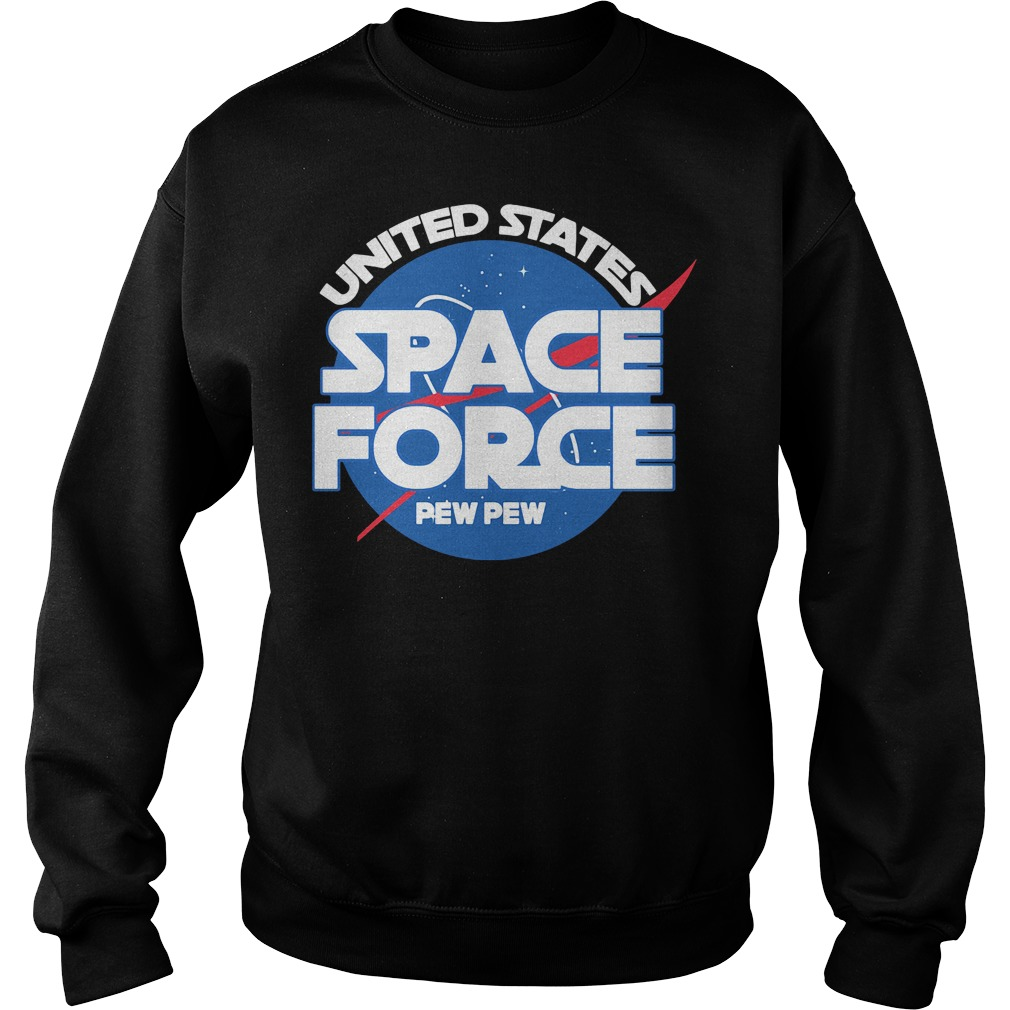 Official Space force pew pew Sweater