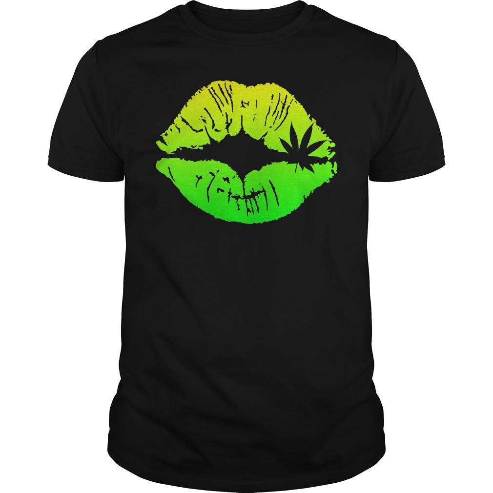 Official Weed Lips Guys tee