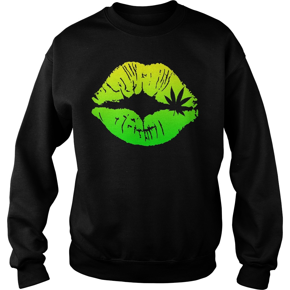 Official Weed Lips Sweater