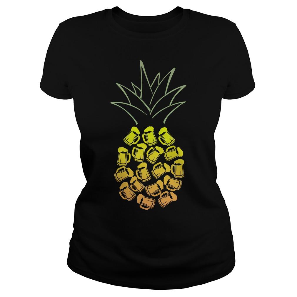 Pineapple Beer Ladies tee