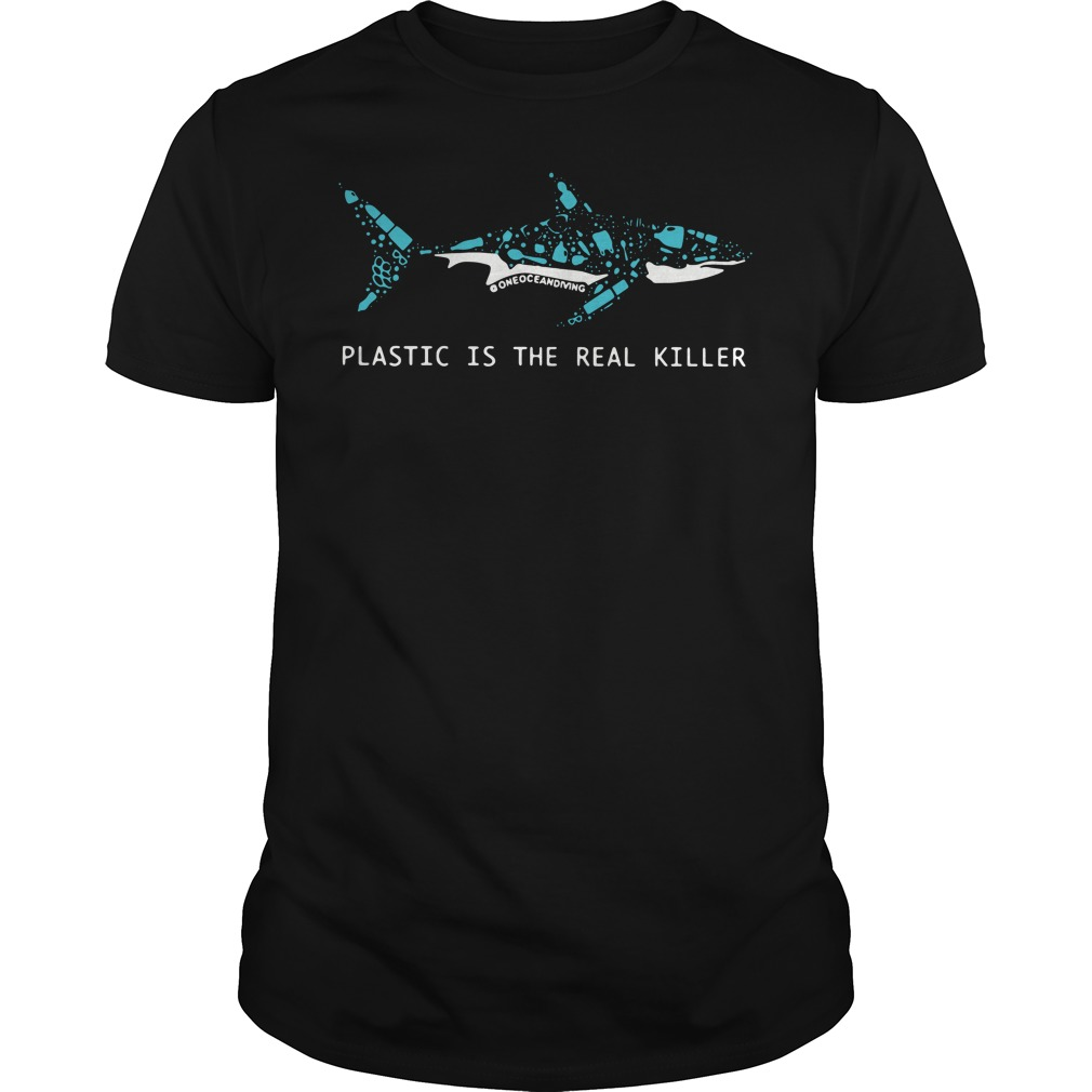 Plastic Is The Real Killer Guys tee