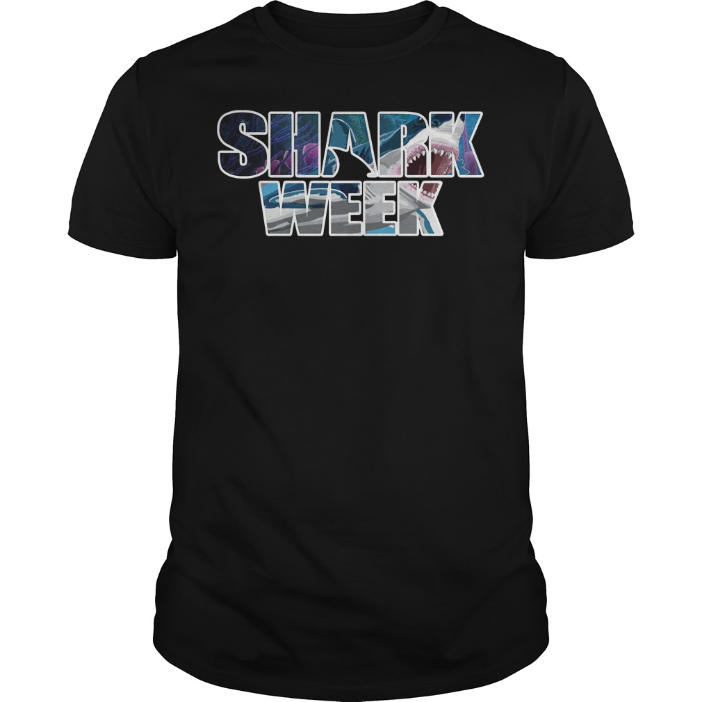 Shark Week Guys tee