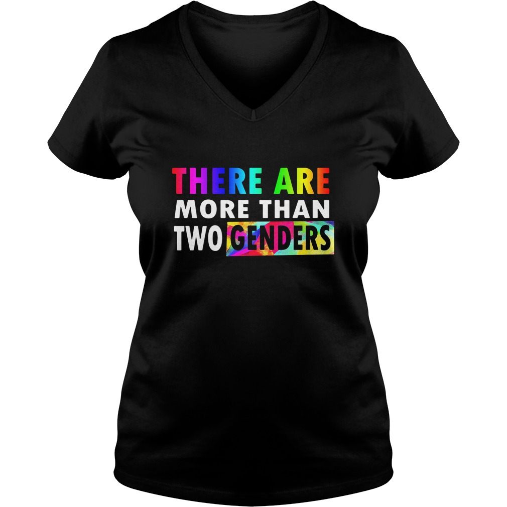 There are More Than Two Genders LGBT V-neck