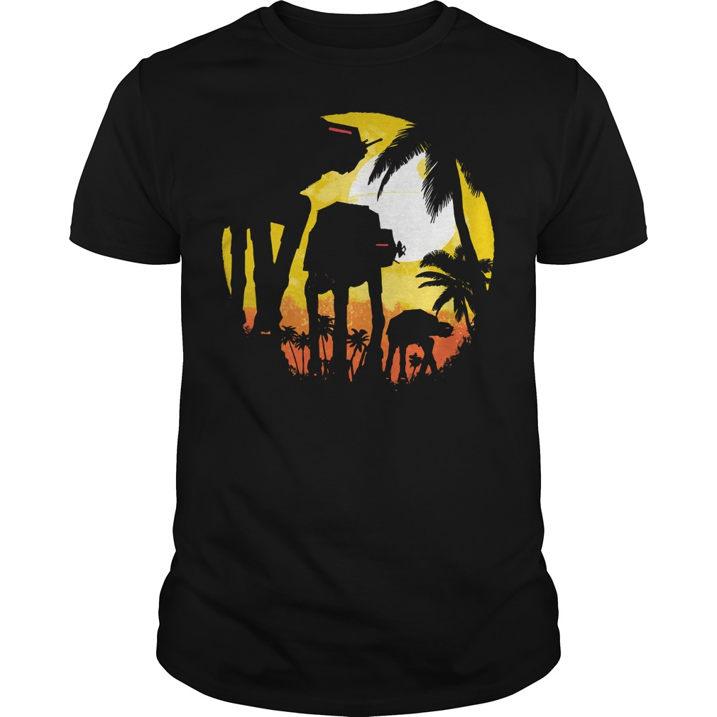 Tropical attack Star wars Guys tee