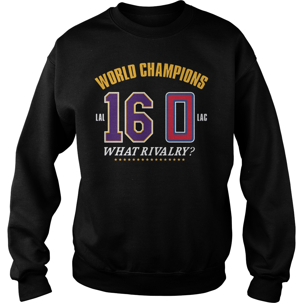 World Champions What Rivalry Sweater