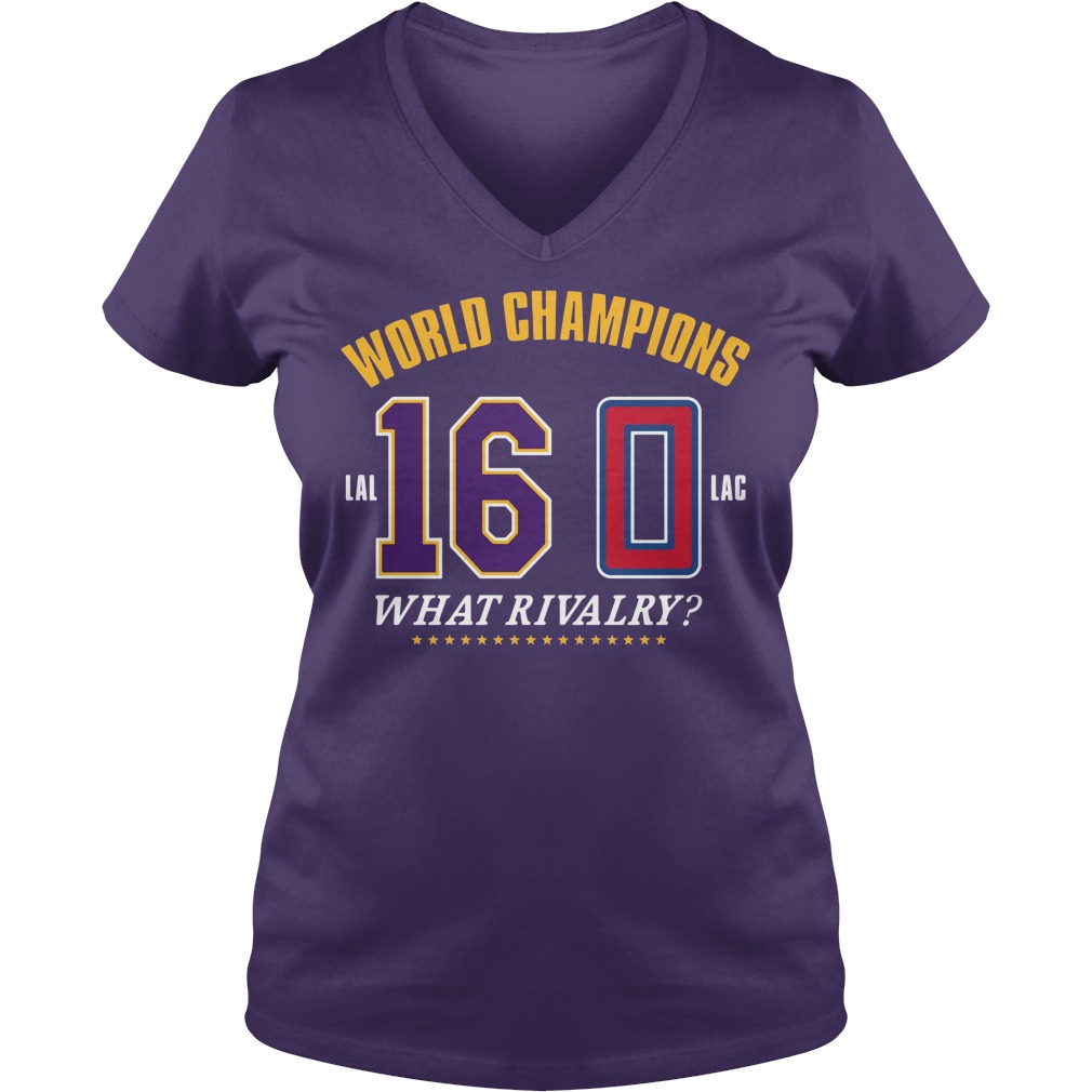 World Champions What Rivalry V-neck