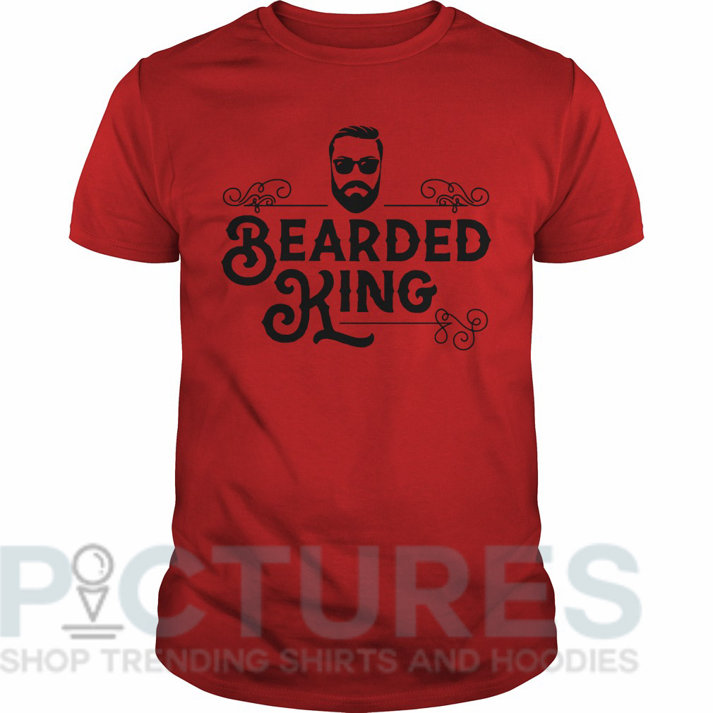 Bearded king Guys tee
