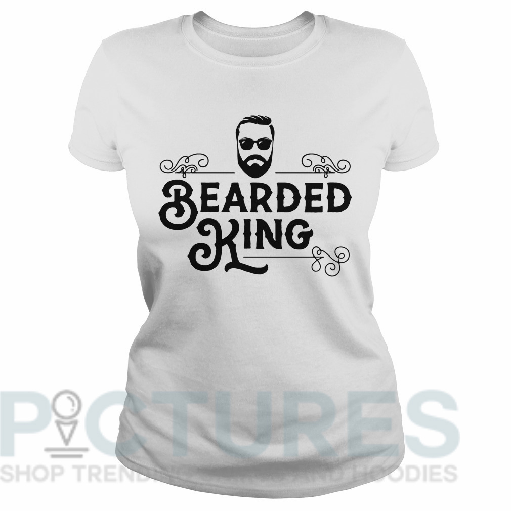 Bearded king Ladies tee