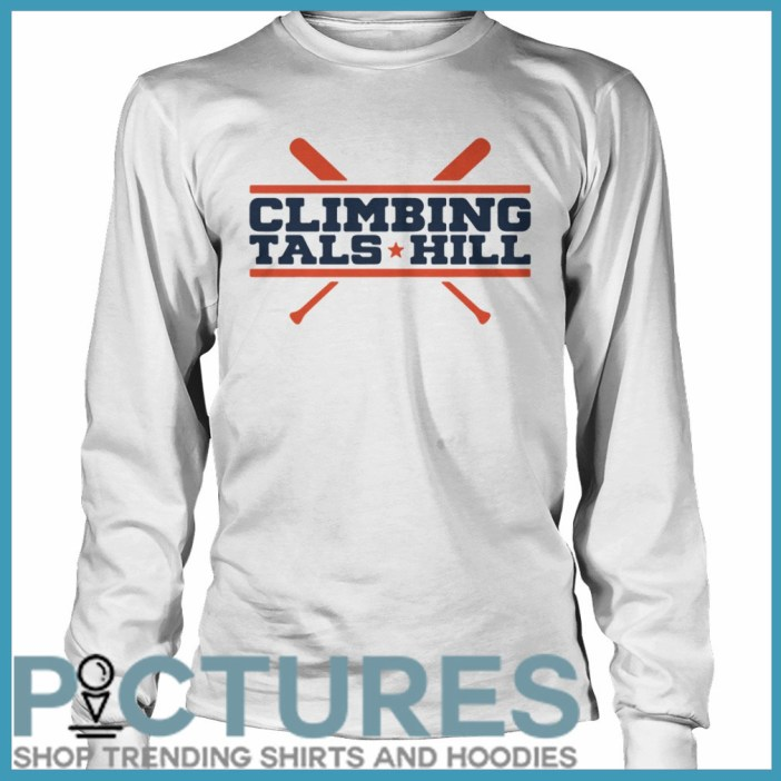 Climbing Tal's Hill Long sleeve