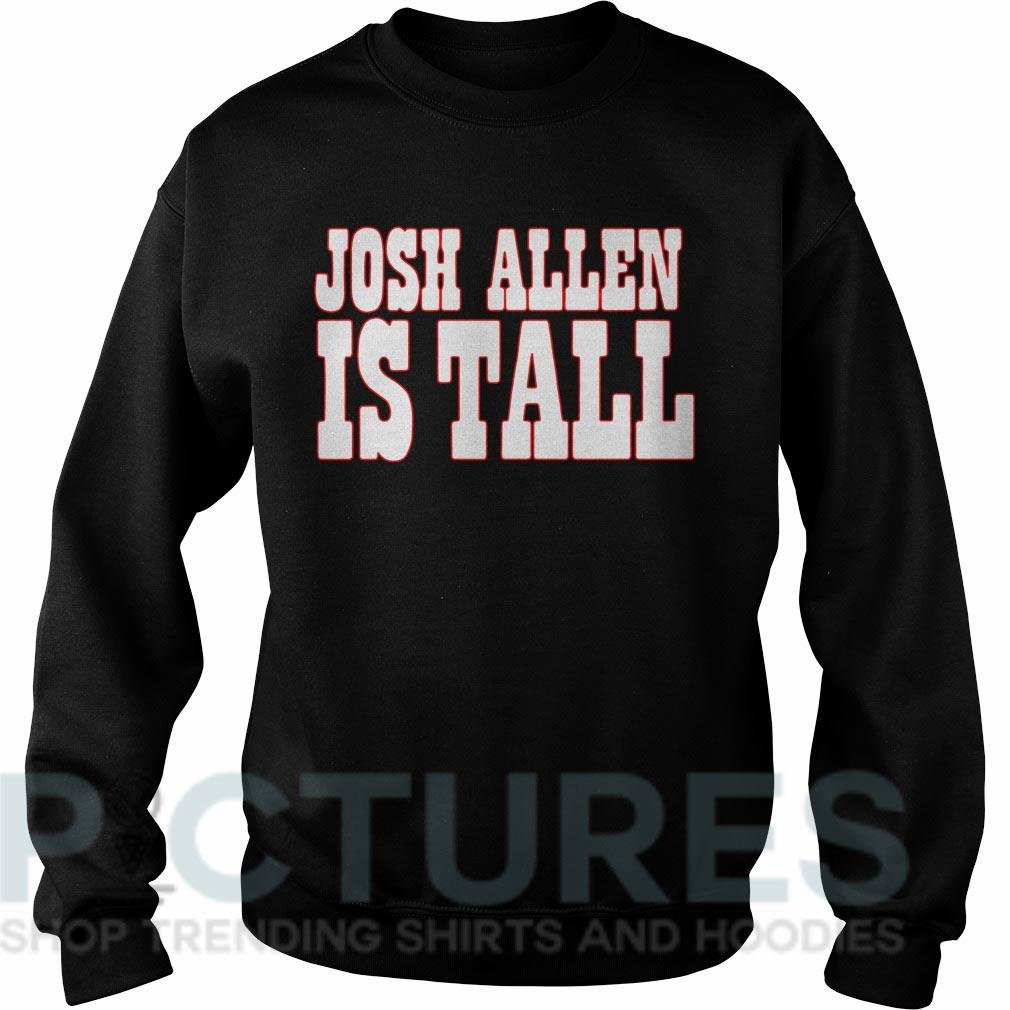 Josh Allen is tall Sweater