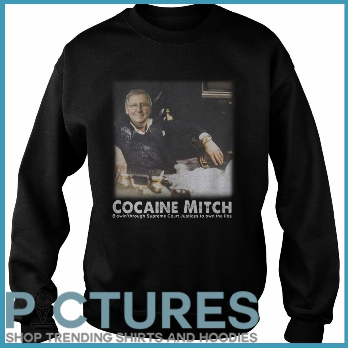 Cocaine Mitch McConnell Sweater