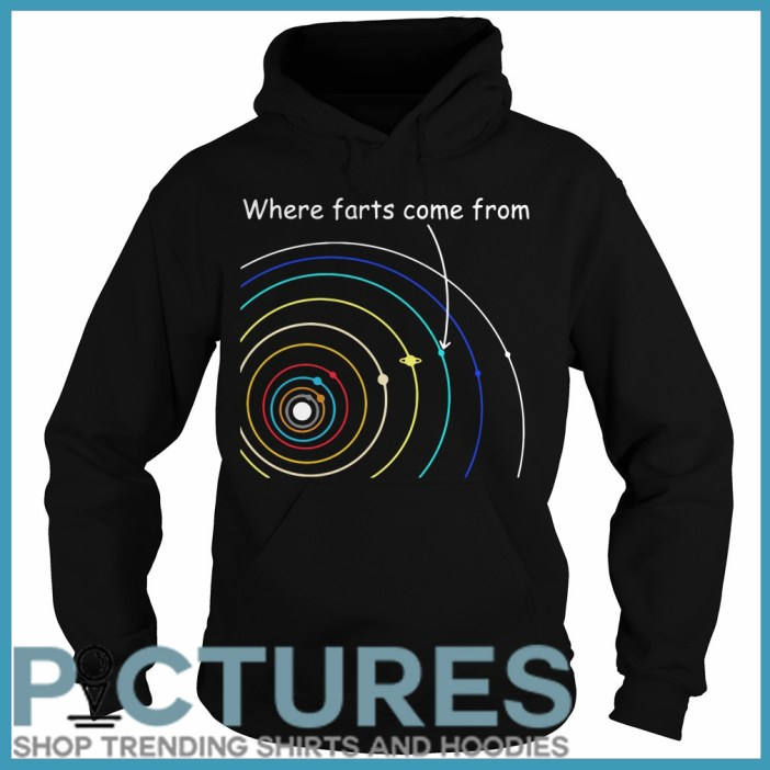 Where farts come from Hoodie