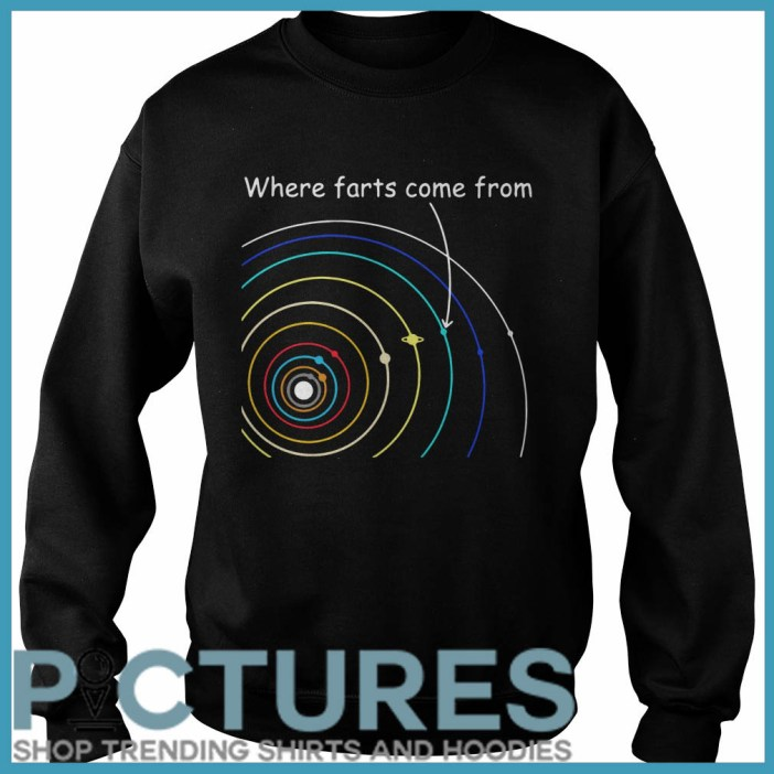 Where farts come from Sweater