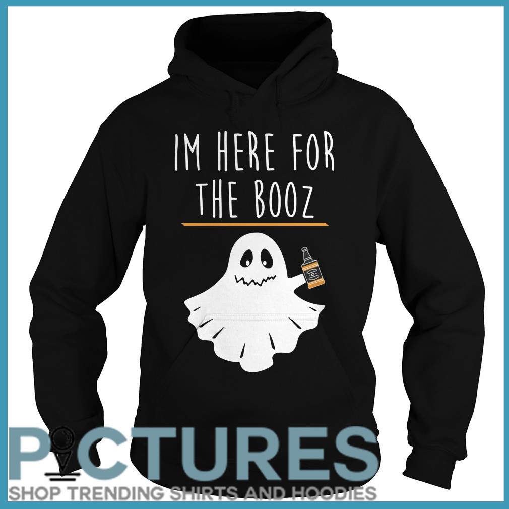 Halloween I'm here for the Booze Hoodie