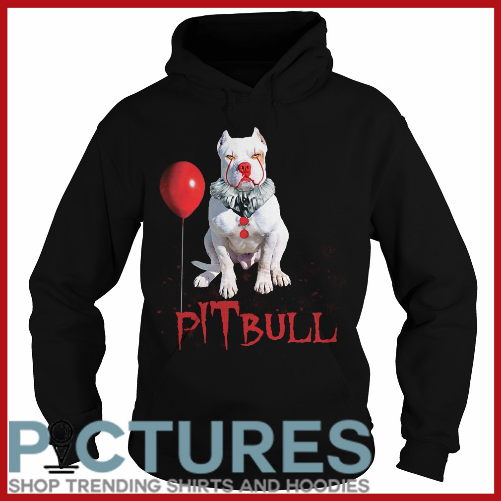 Halloween Pitbull Pennywise Hoodie