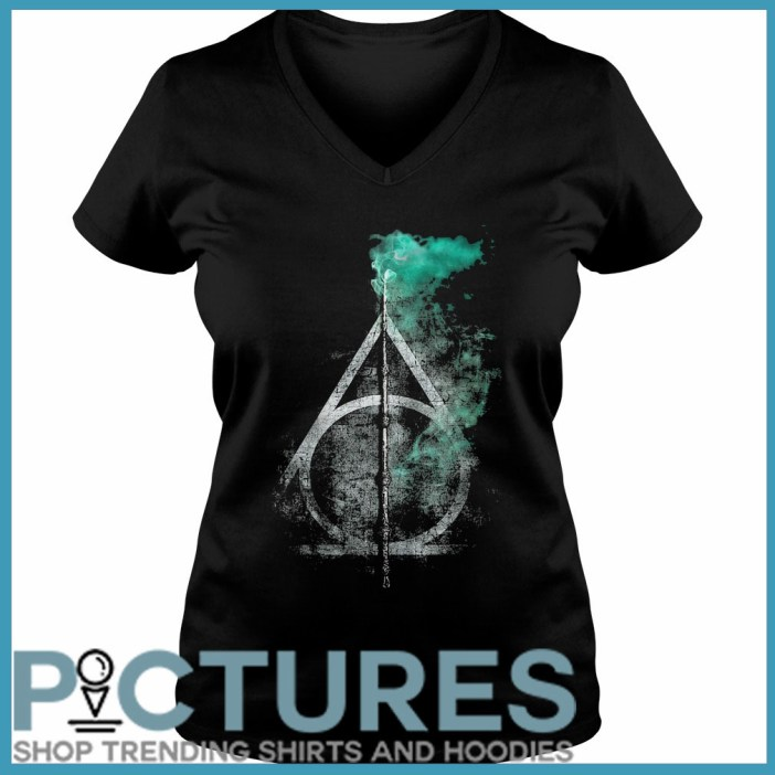 Harry Potter and the Deathly Hallows V-neck