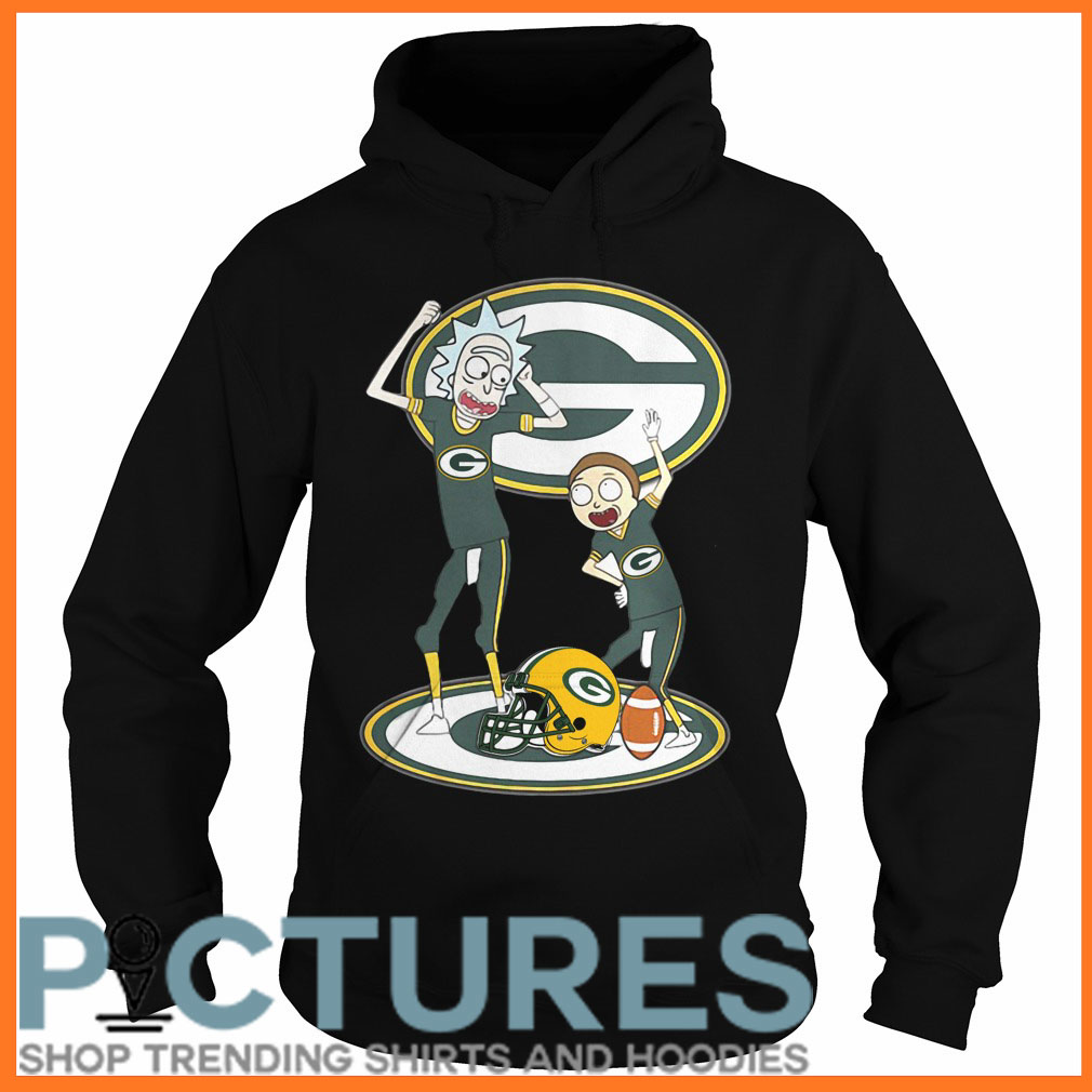 Rick and Morty Green Bay Hoodie