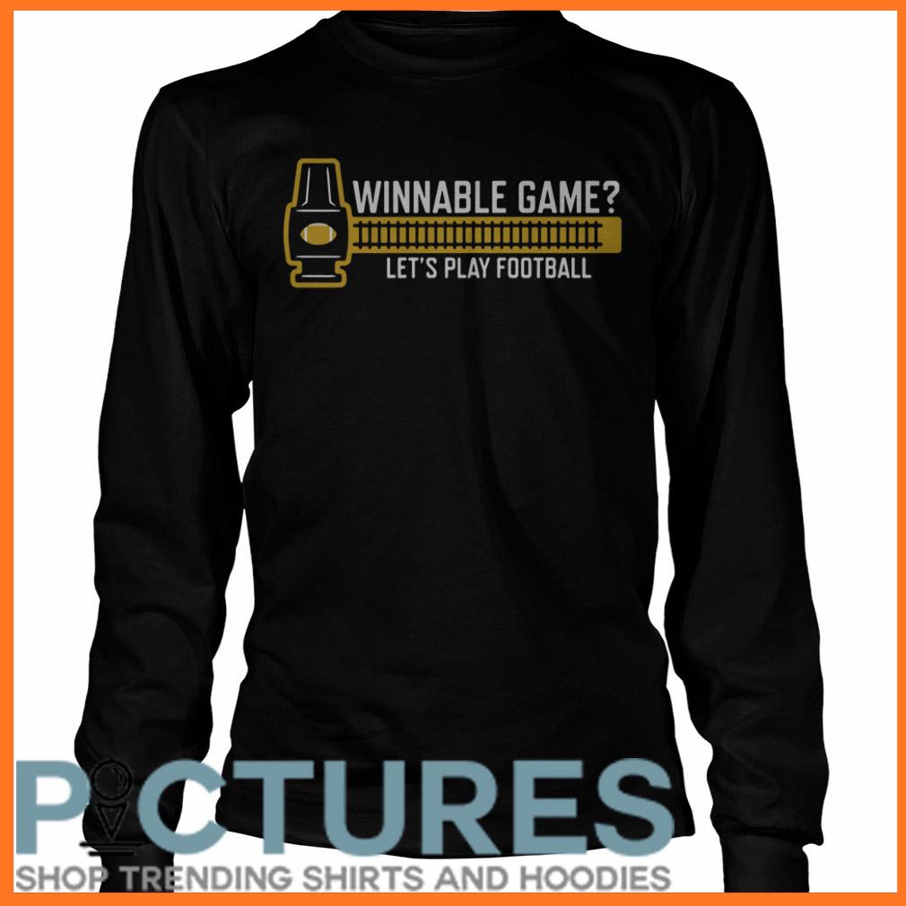 Winnable game Long sleeve