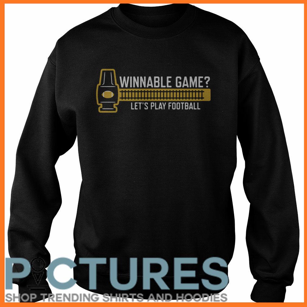 Winnable game Sweater