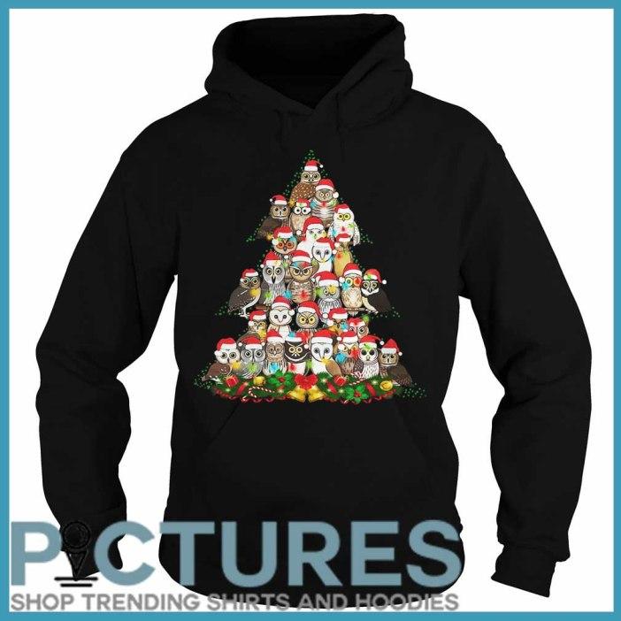 Owl Christmas tree Hoodie