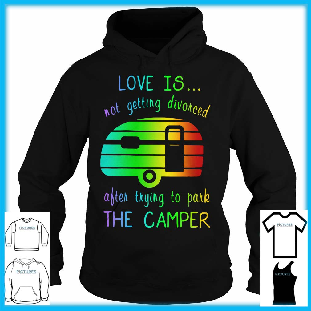 Love Is Not Getting Divorced Often Trying To Pake The Camper Hoodie