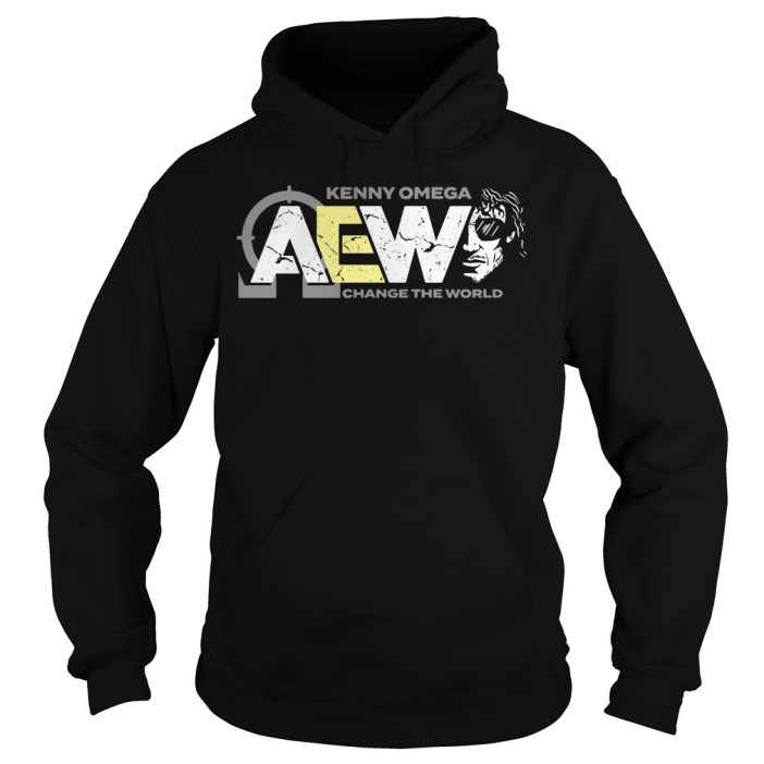 AEW Kenny Omega change the world hoodie