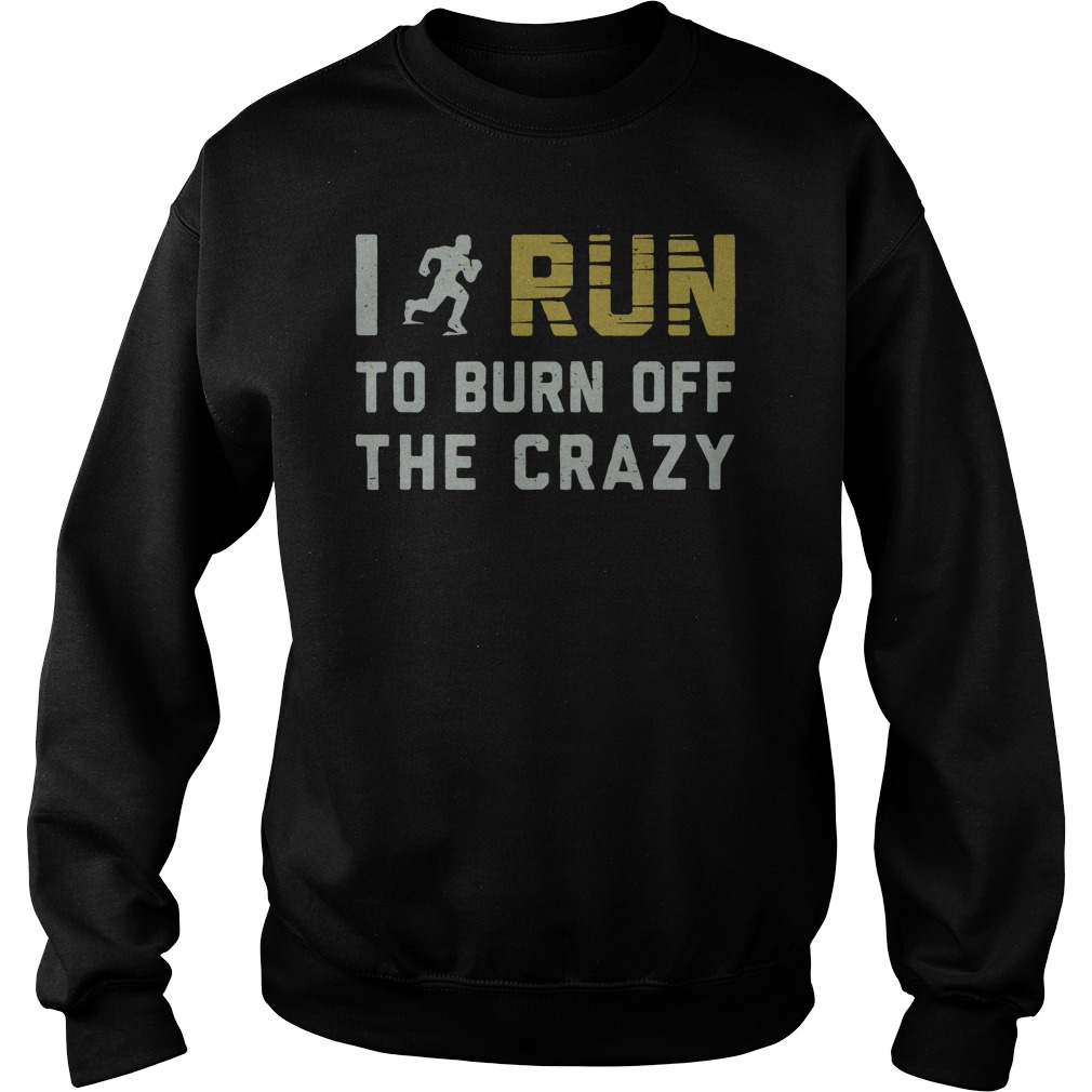 I run to burn off the crazy sweater