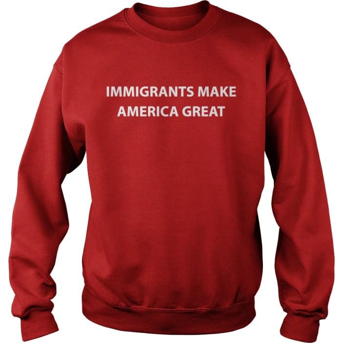 Immigrants make America great sweater