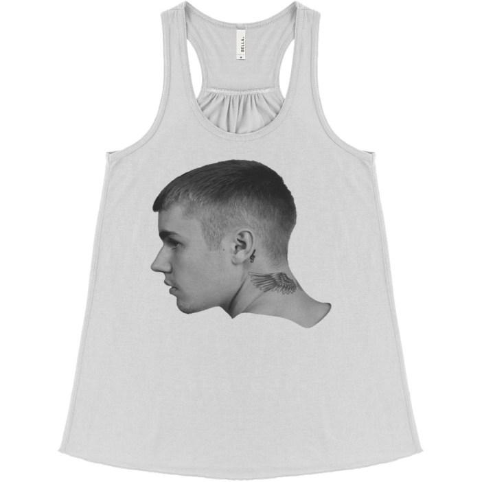 Justin Bieber Tatoo flowy tank