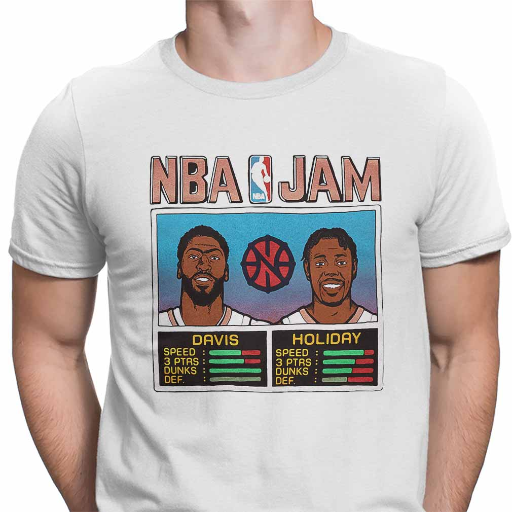 NBA Jam Davis Holiday Shirt