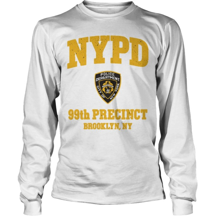 NYPD police department city of New York 99th precinct Brooklyn NY long sleeve