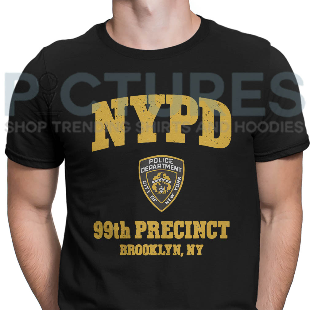 NYPD police department city of New York 99th precinct Brooklyn NY shirt