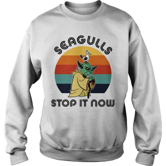 Seagulls stop it now sweater