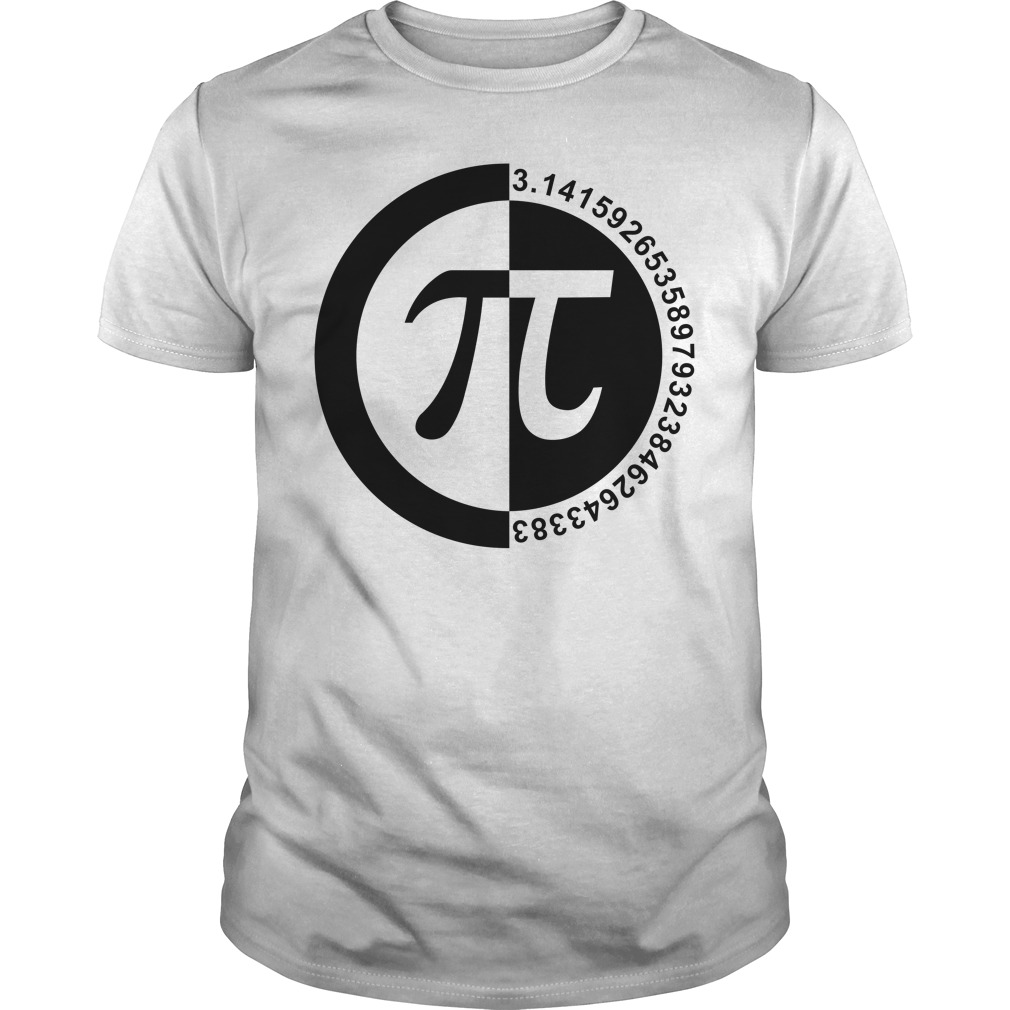 Pi Day number guys tee