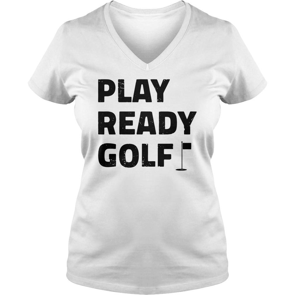Play ready golf v-neck