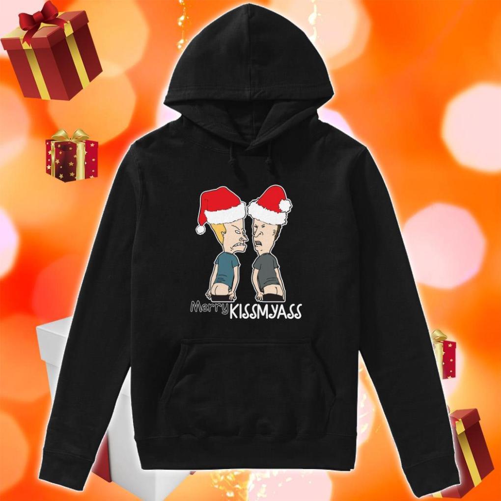 Beavis and Butt Merry Kissmyass hoodie