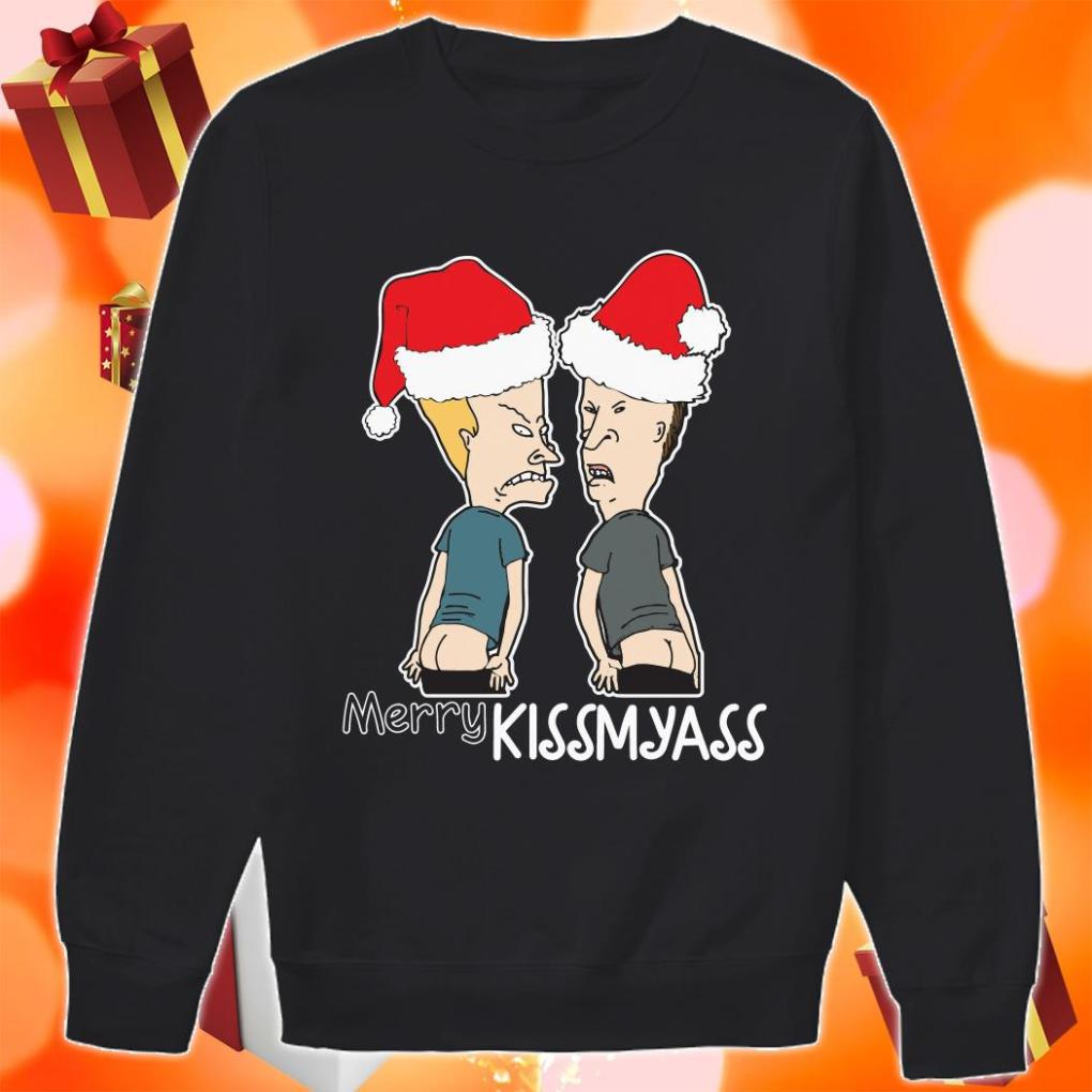 Beavis and Butt Merry Kissmyass Sweater