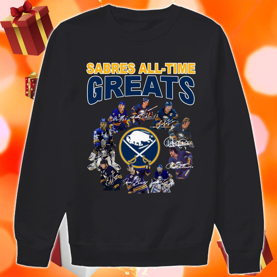 Buffalo Sabres All-time Greats signatures sweater
