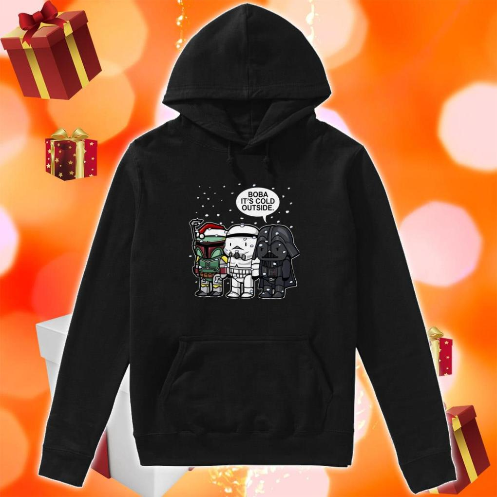 Darth Vader Boba it's cold outside Christmas hoodie