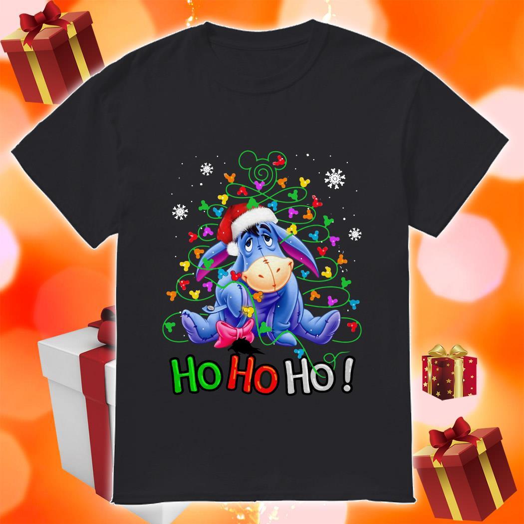 Eeyore Ho ho ho Christmas shirt