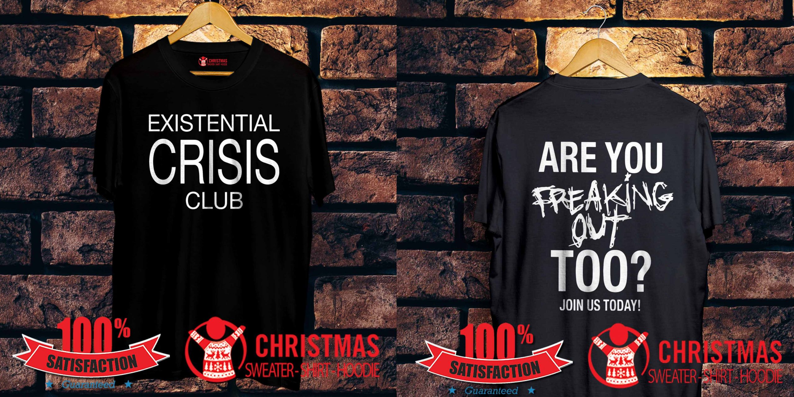 Existential Crisis Club Are You Freaking Out Shirt
