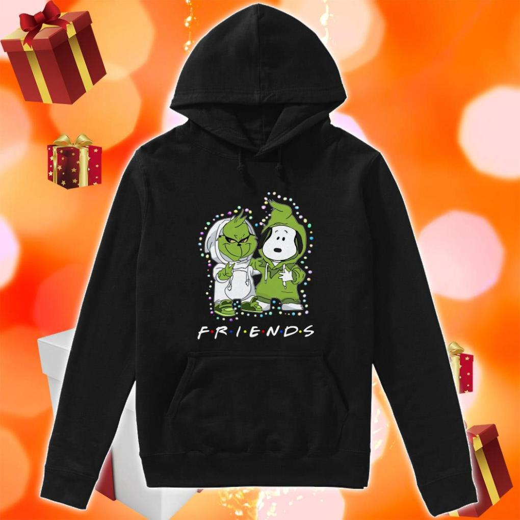 Grinch and Snoopy Friends Christmas hoodie