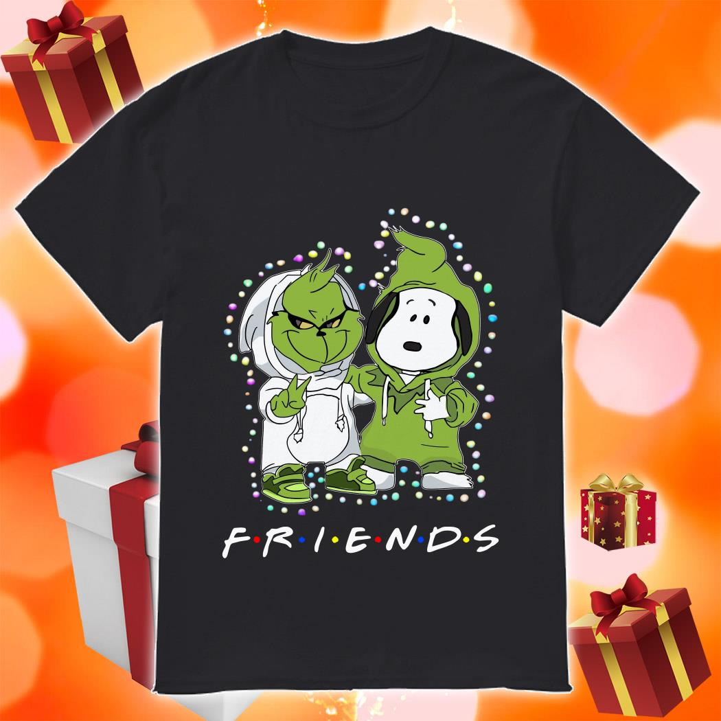 Grinch and Snoopy Friends Christmas shirt