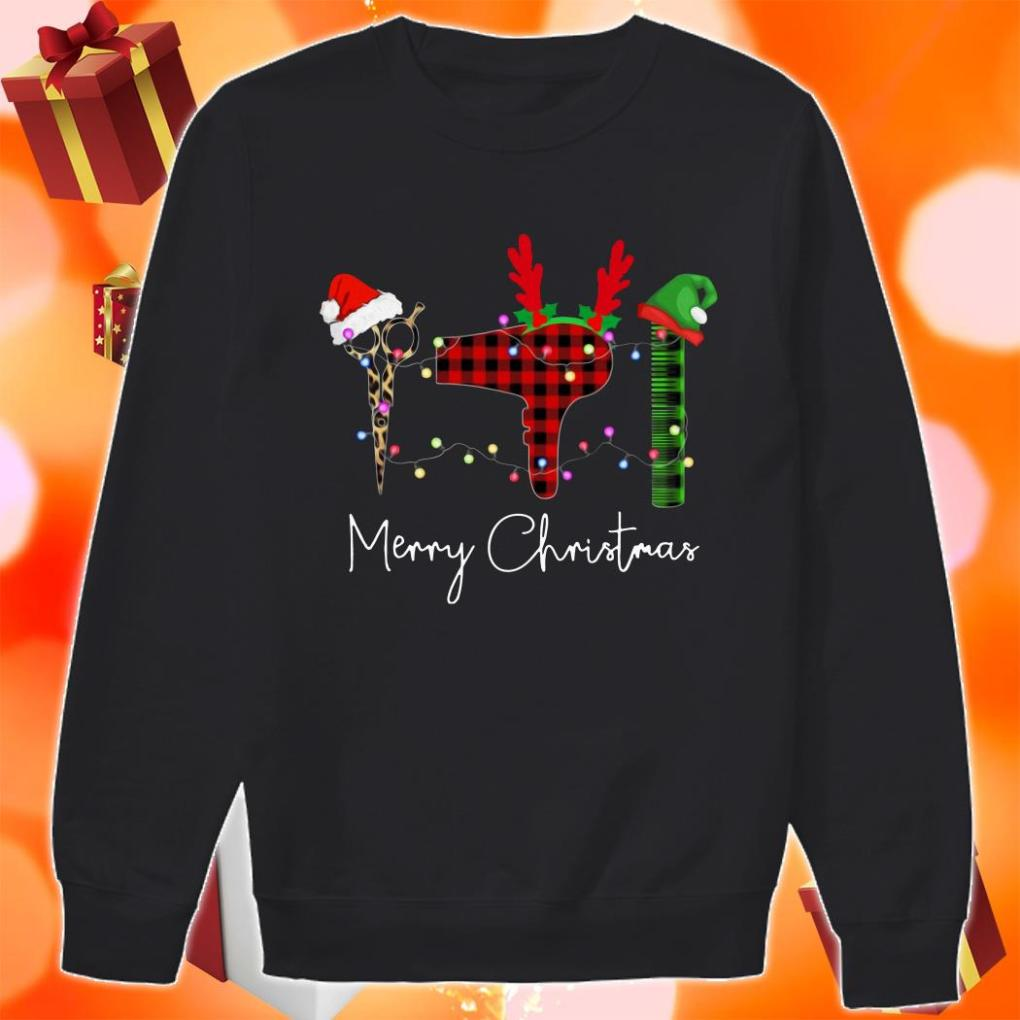 Hair Stylist Merry Christmas sweater