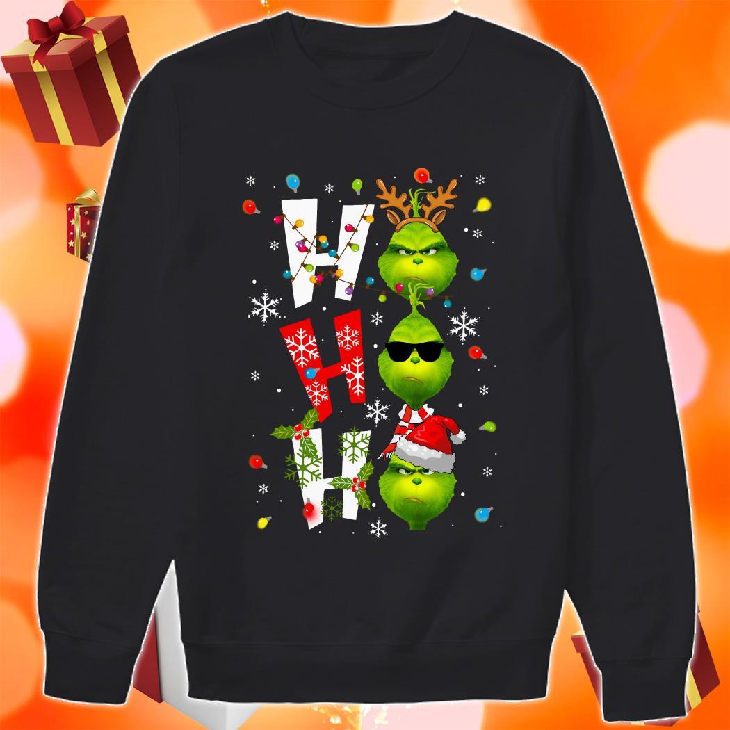 Ho Ho Ho Grinch Christmas sweater